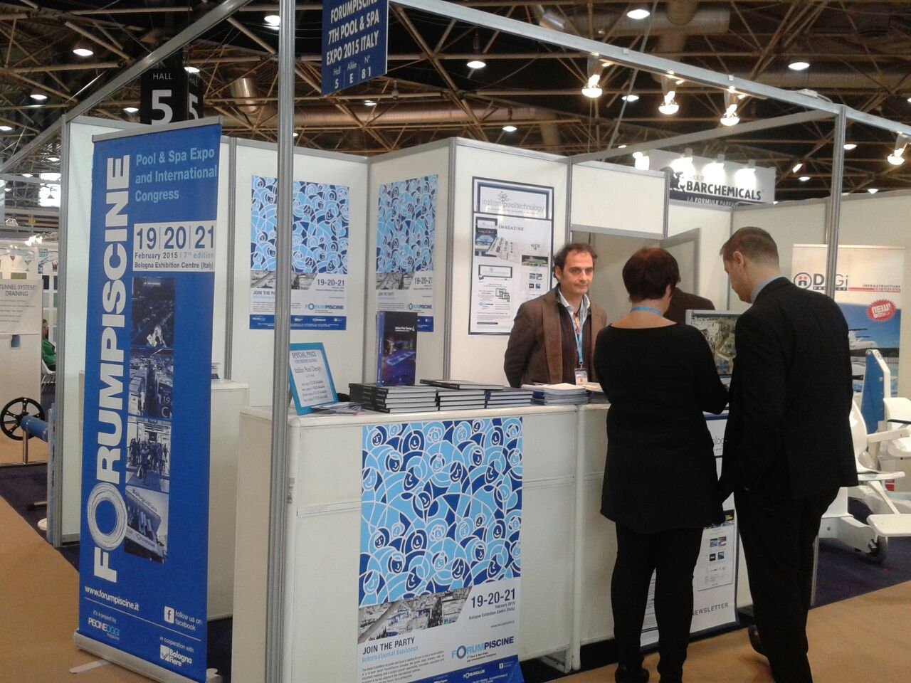 Italian Pool Technology at Piscine Globale 2014