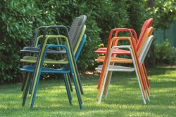 chairs into a garden