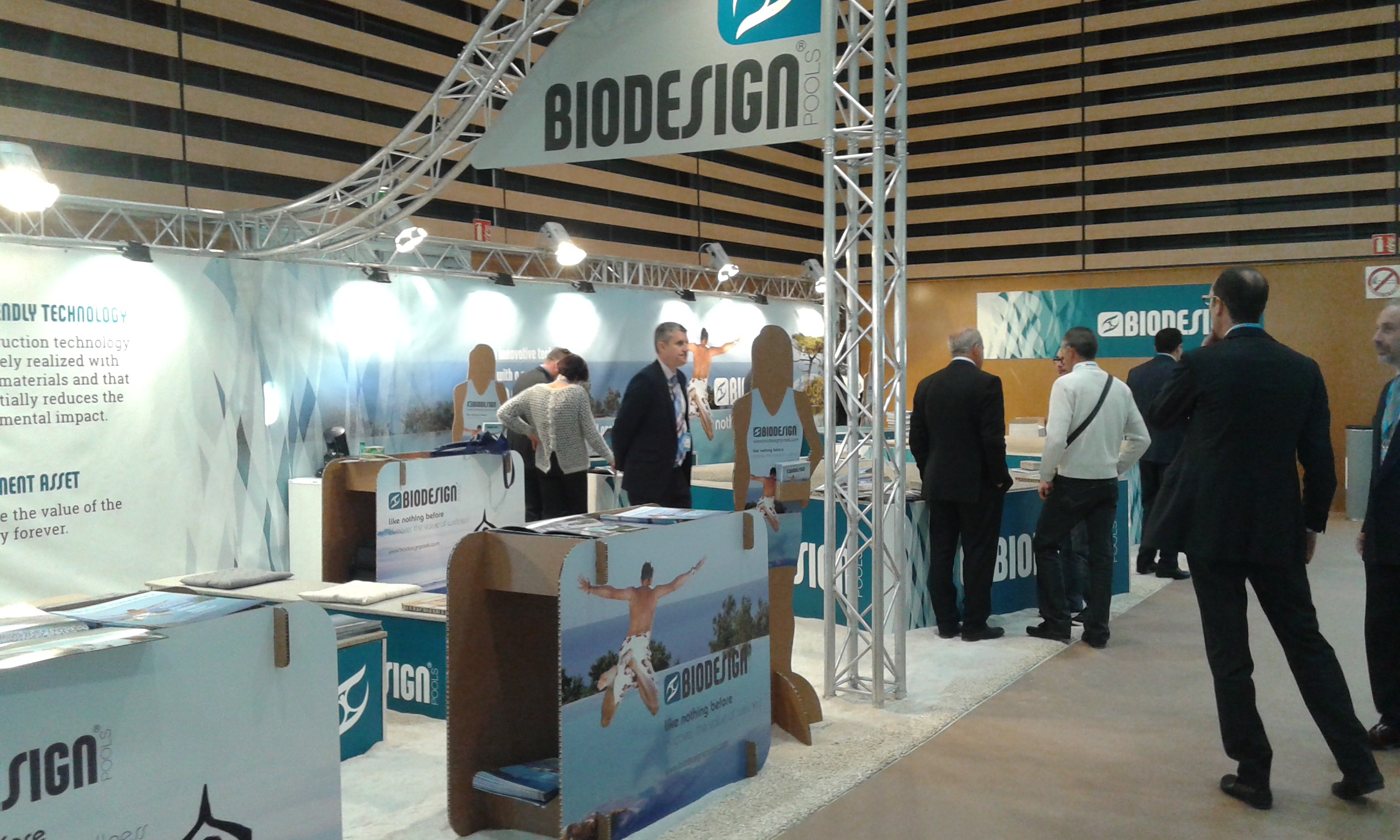 biodesign stand at piscine global 2014