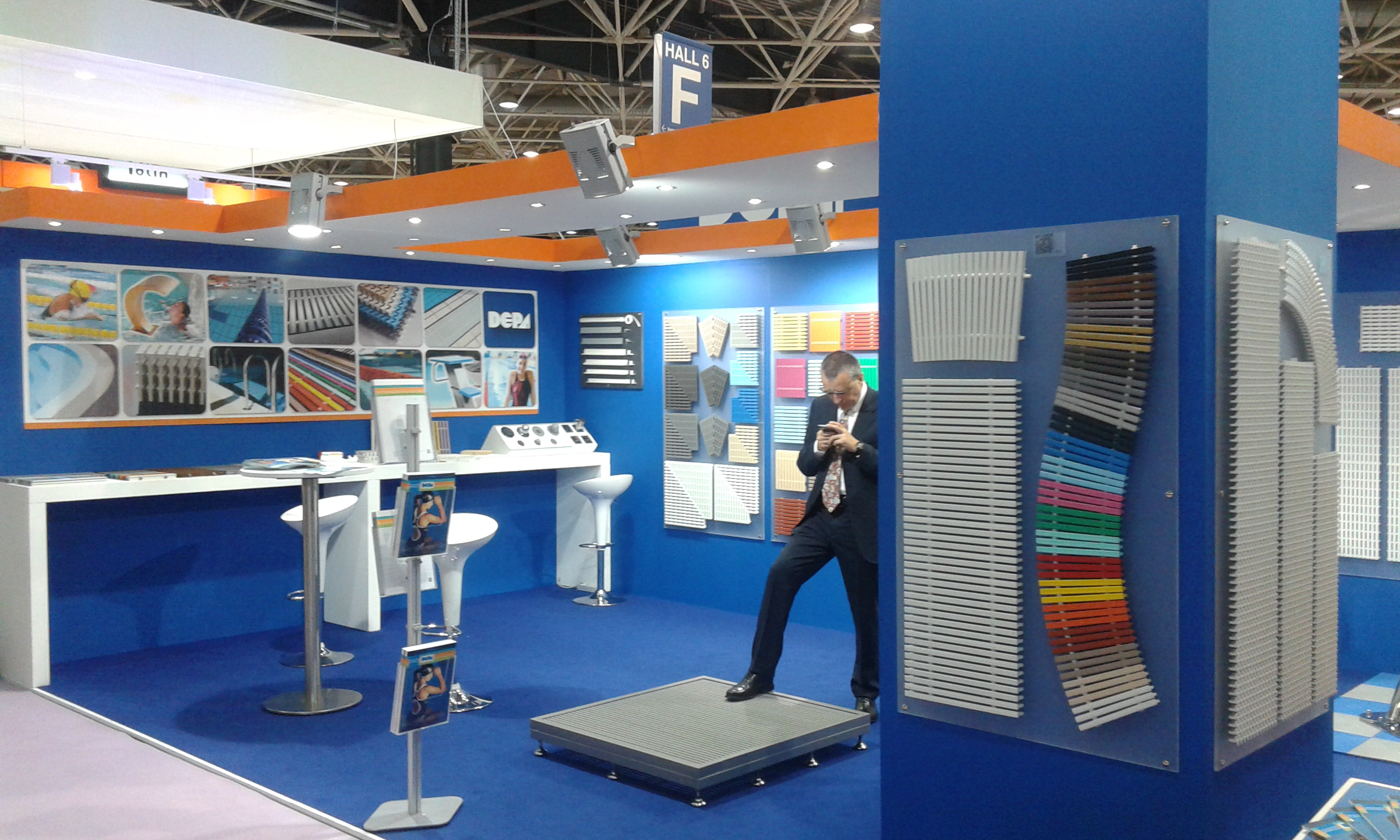 depa stand at piscine global 2014
