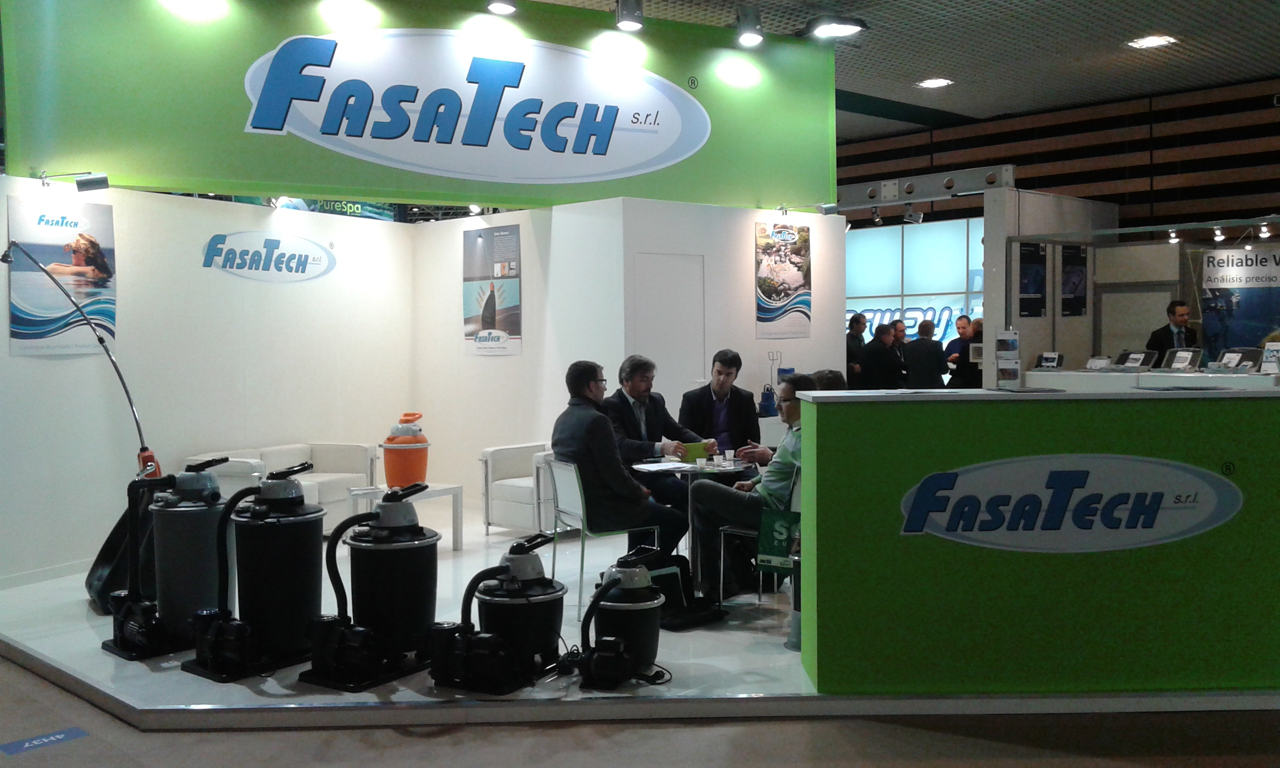 fasatech stand at piscine global 2014