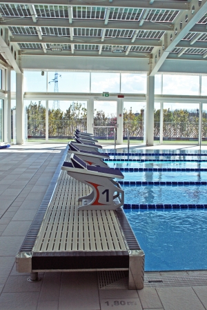 pool of eracle sport centre in Italy