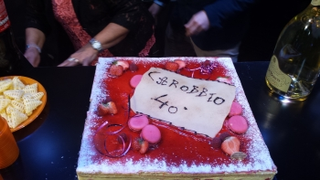 carobbio's cake 40 years of activity