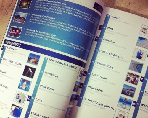 italian pool tecnology magazine