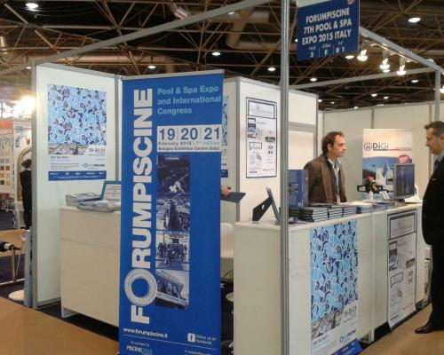 stand Forumpiscine at Piscine Global 2014
