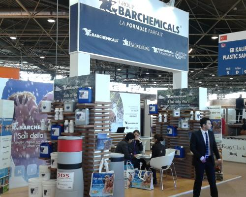 barchemicals stand at piscine global 2014