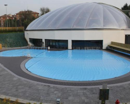 New italian pool cover by polimpianti italian pool for Italian pool design 7