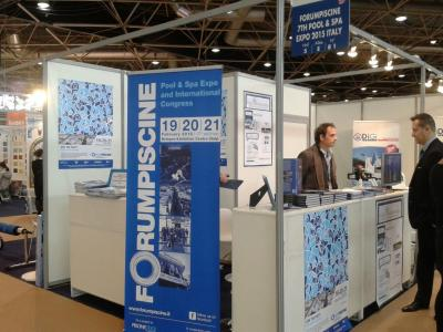 stand Forumpiscine at Piscine Global 2014