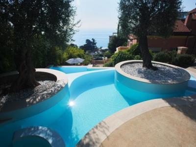 italian, pool, technology, sea, olive, tree,