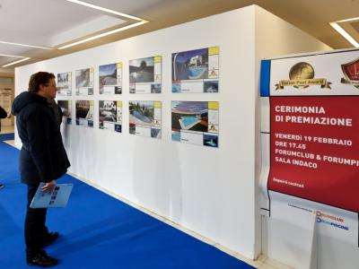 The exhibit of the nominees for Italian Pool Award 2016